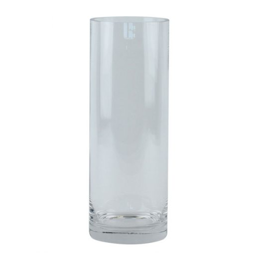 glass vase wedding decor hire