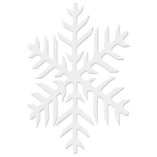 2D snowflake hire winter wedding decor hire
