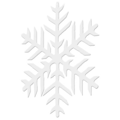 2D snowflake hire winter wedding decor hire