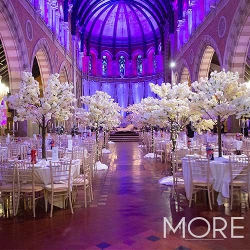 6ft White Blossom Tree wedding hire