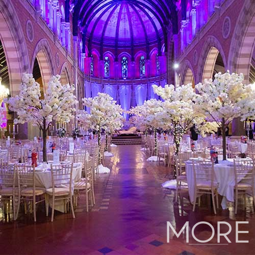 3m White Blossom Tree wedding hire