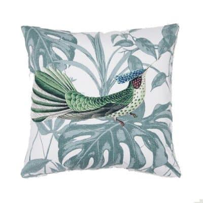 blue bird cushion hire wedding decor