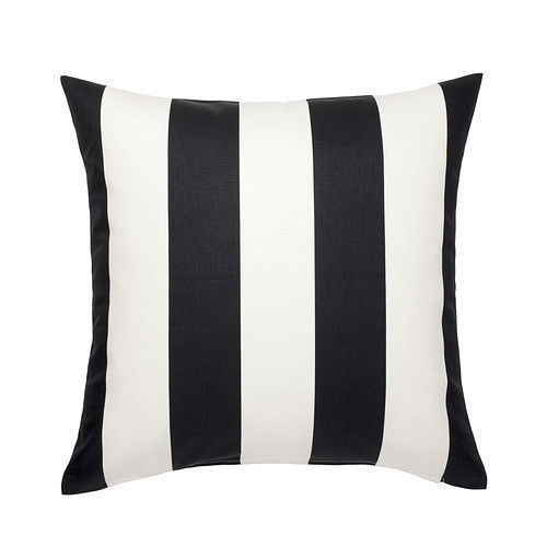 black and white striped cushion hire wedding decor