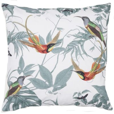 bird cushion wedding decor hire