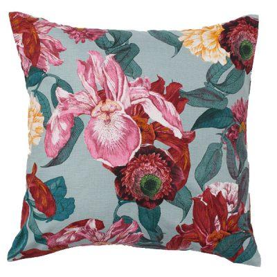 floral cushion wedding decor hire