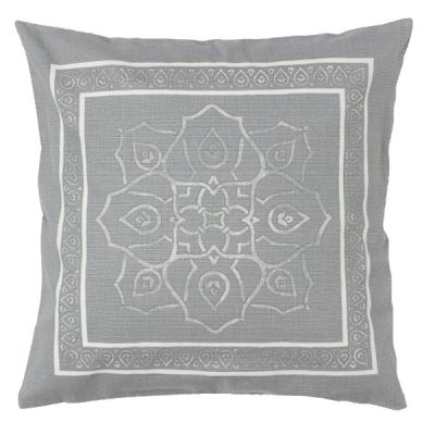 grey cushion hire wedding decor
