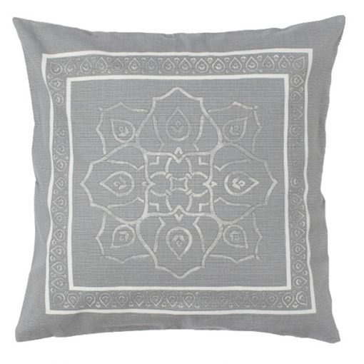 grey cushion hire wedding decor