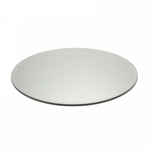 mirror plate hire wedding decor