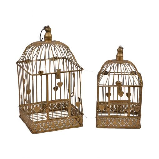 gold bird cage prop hire 1920 and rustic wedding decor