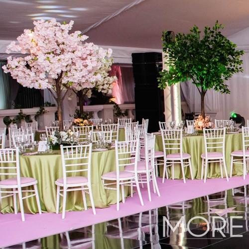6ft Pink Blossom Tree wedding hire