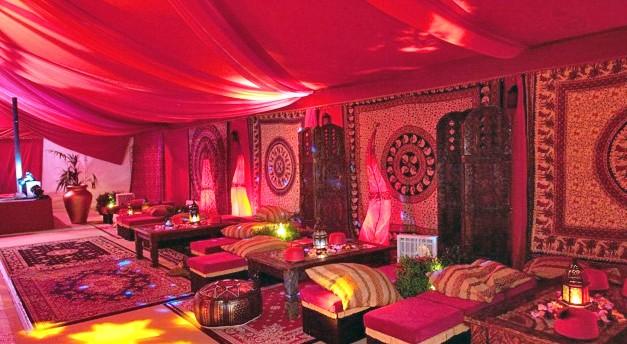 Arabian nights theme drapes