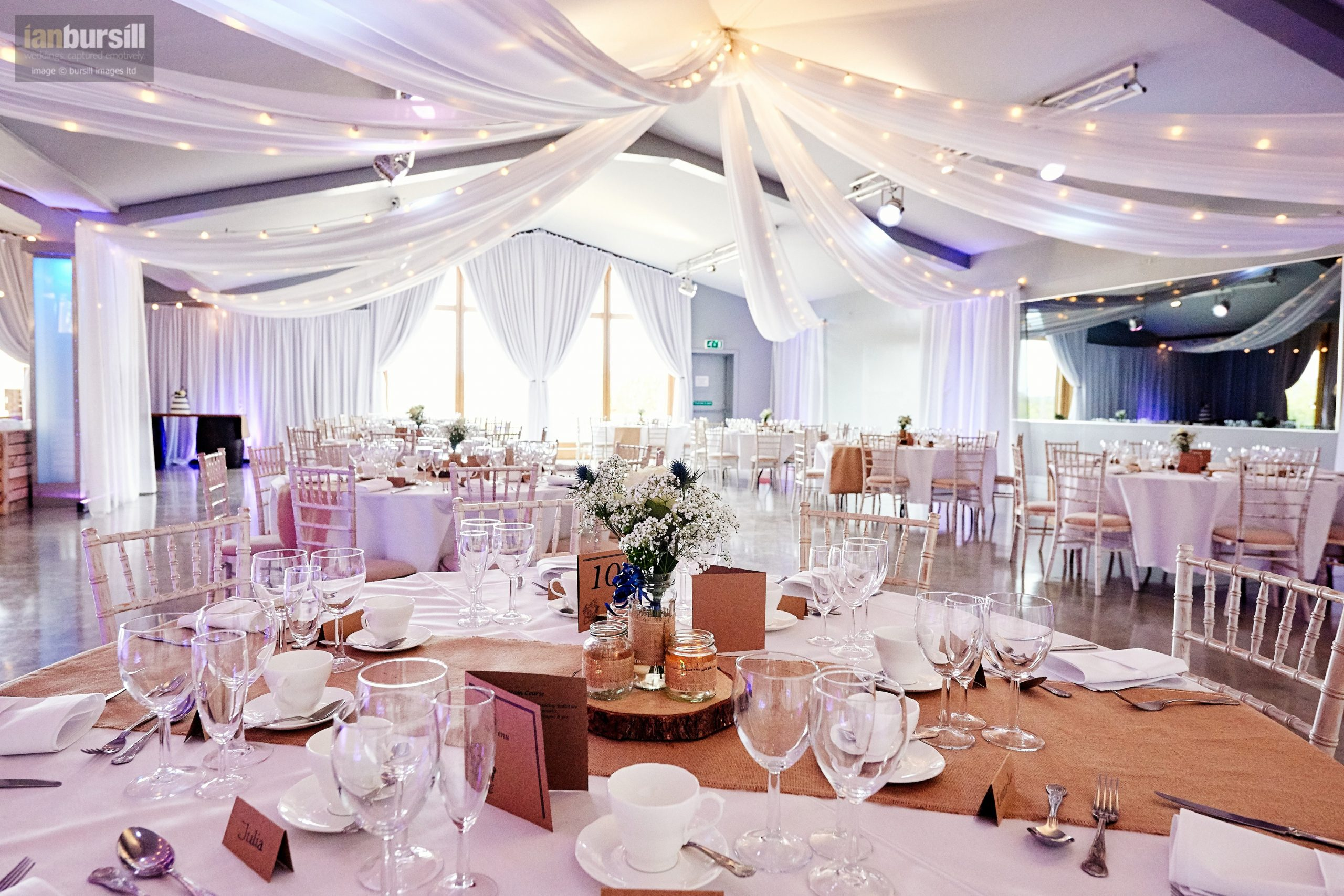 ladywood estate wedding decor with wedding venue drapes