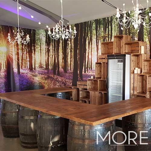 U Shaped Barrel Bar 3.6m hire