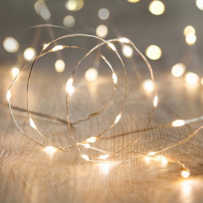 battery fairy lights wedding decor