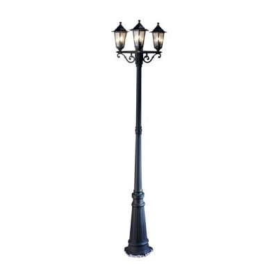black street lamp prop hire wedding decor