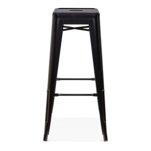 black tolix poseur stool wedding furniture hire