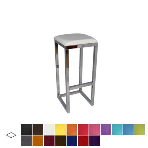 reflection poseur stool wedding hire