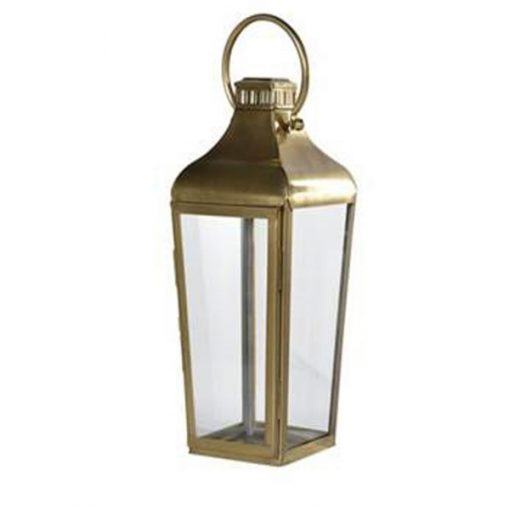 brass lantern hire wedding deco
