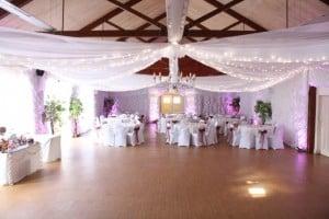 Brooksby Hall wedding drapes small