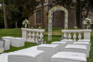 Brooksby outdoor ceremony