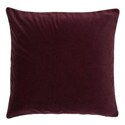 burgundy cushion wedding decor hire