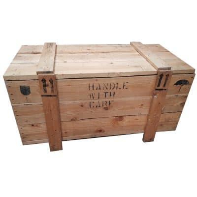 cargo crate hire 1920 wedding decor