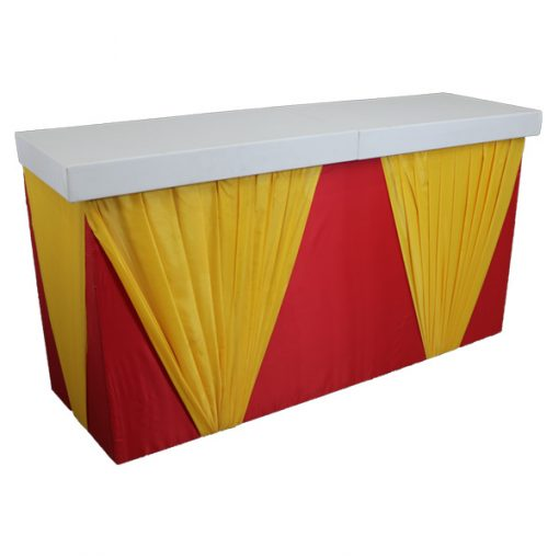 circus bar hire wedding decor