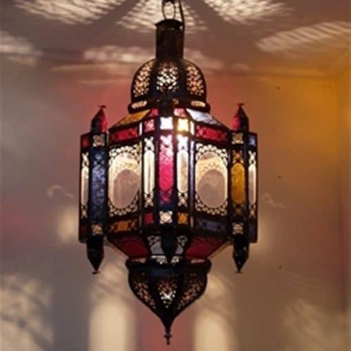 moroccan hanging lantern mehndi wedding theme