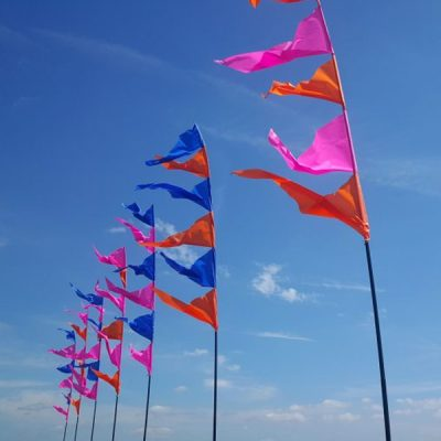 festival flag hire wedding decor hire