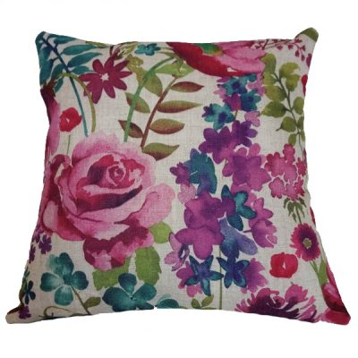 floral cushion wedding decor hire