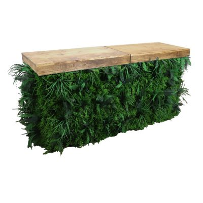 foliage bar wedding furniture hire