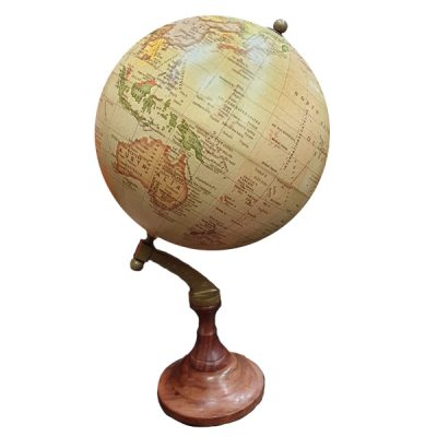 vintage globe prop hire 1920 wedding decor