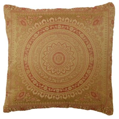 gold moroccan cushion mehndi wedding theme