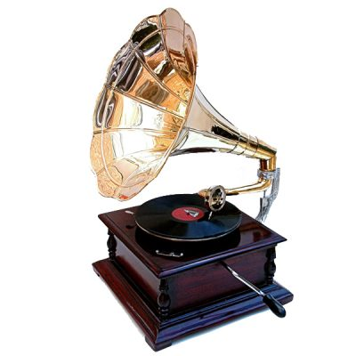 gramophone prop hire 1920 wedding decor