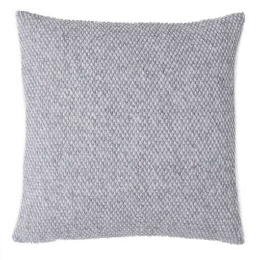 grey knit cushion wedding decor hire