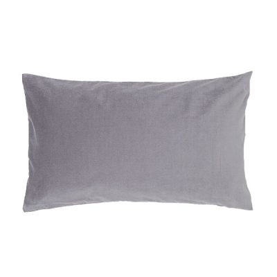 grey velvet cushion wedding decor