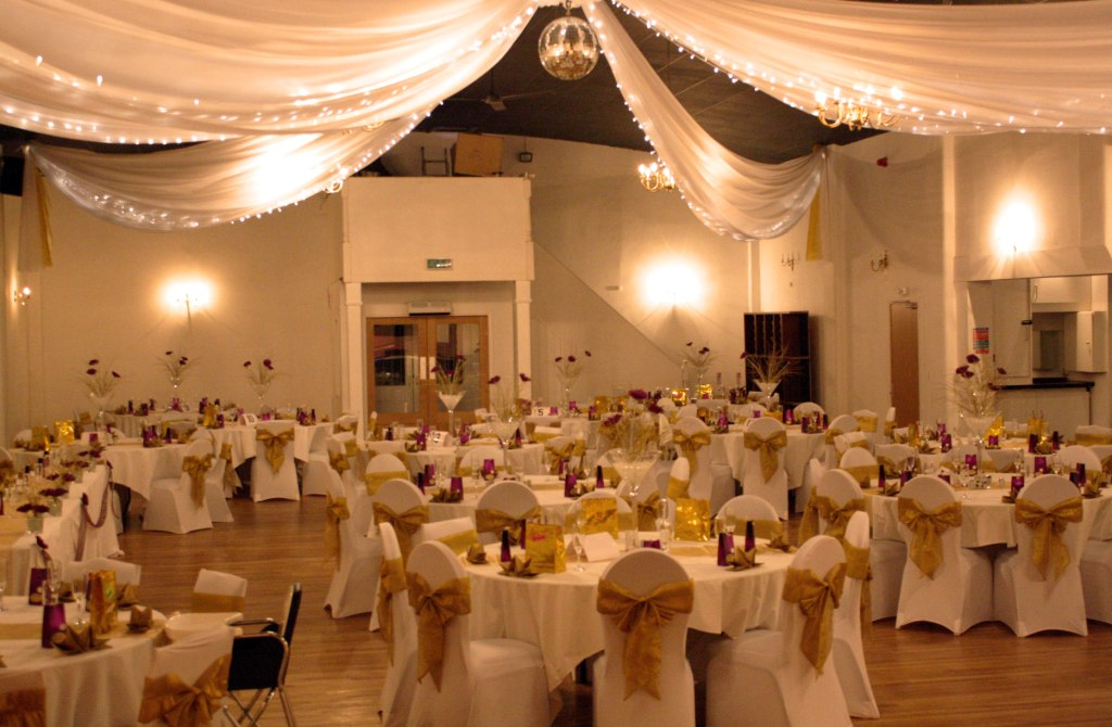 Fabric Fairy Light Canopy More Weddings