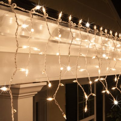 icicle lighting wedding decor