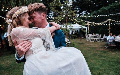 Jamie & Carla's Charming Back Garden Wedding