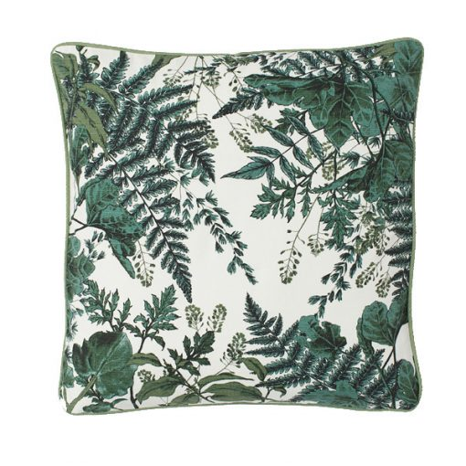 green leaf cushion hire wedding decor
