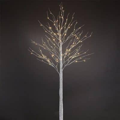 twig tree winter wedding decor hire