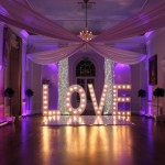 LOVE letters at Colwick Hall