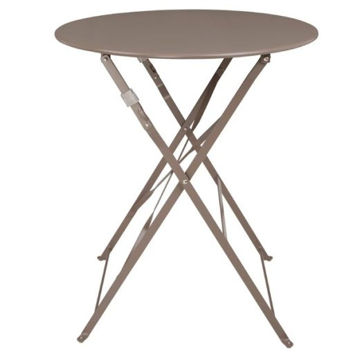 latte bistro table wedding furniture hire