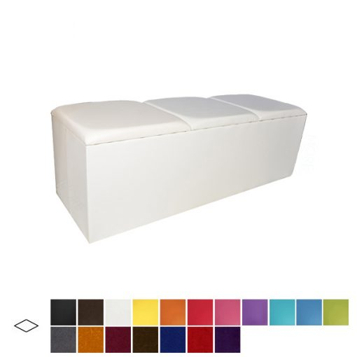 colours bench seat wedding furniture hire