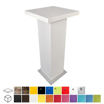colours poseur table wedding furniture hire