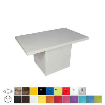 colours rectangular coffee table wedding hire