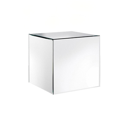 mirror cube wedding furniture hire