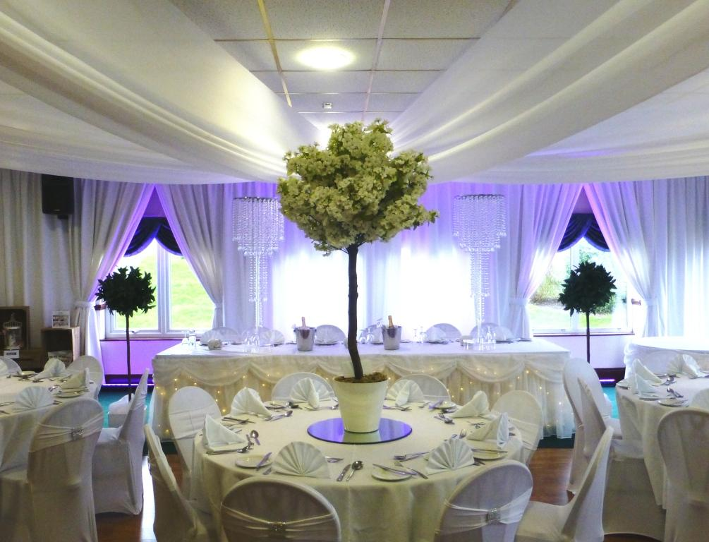 blossom tree table centre