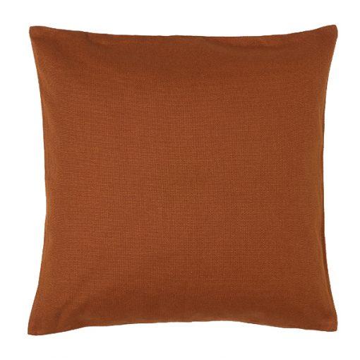 rust cushion wedding decor hire