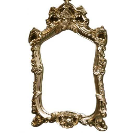 ornate mirror wedding decor hire